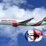 Accord de partage de code entrez Kenya Airways et China Southern